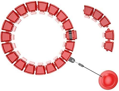 FFCVTDXIA Beautiful Hula Hoop Aro para Adultos neumático Hula Hoop no abandona el Equipo de Yoga Hula Hoop Pérdida de Peso Artefacto Equipo Deportivo Adecuado para Adultos y niños