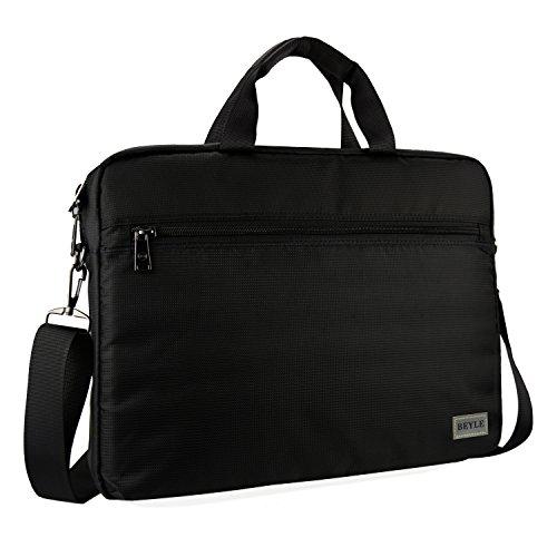 Laptop Bag, Beyle 15.6 inch Laptop Case, Briefcase Messenger Shoulder Bag for Men Women, College Students Business People Office Workers Professional Computer, Notebook, Table, MacBook Bag, Black