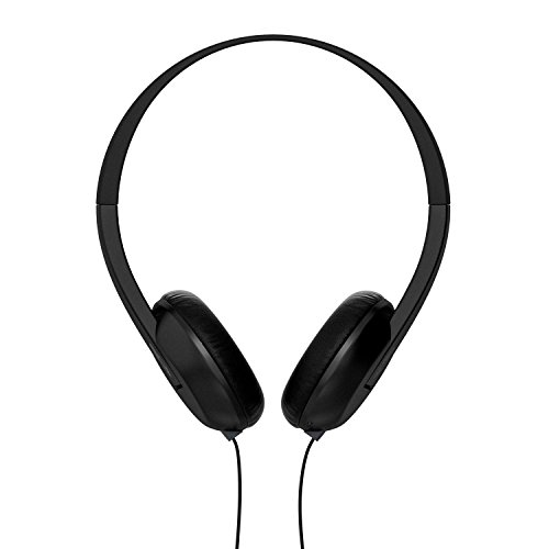 Skullcandy Uproar On-ear Headphones with Built-In Mic and Remote, Black (Renewed)