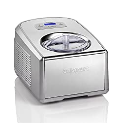 Cuisinart ICE100BCU Ice Cream and Gelato Professional, 1.5L Compressor Ice Cream Maker with Gelato and Ice Cream Paddles. Makes 1.5L of delicious, homemade ice cream, gelato, frozen yoghurt or sorbet in as little as 40 minutes. Professional compresso...