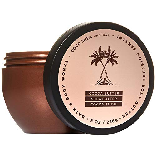 Bath and Body Works COCOSHEA COCONUT Intense Moisture Body Butter 8 Ounce (2018 Edition)