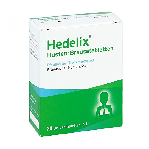 HEDELIX Husten-Brausetabletten 20 St