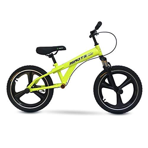 Bicicleta sin pedales Bici Bicicleta de Equilibrio de 18 Pulgadas con Freno...