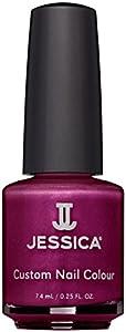 JESSICA Custom Colour Midi Nail Polish, Foxy Roxy 7.4 ml