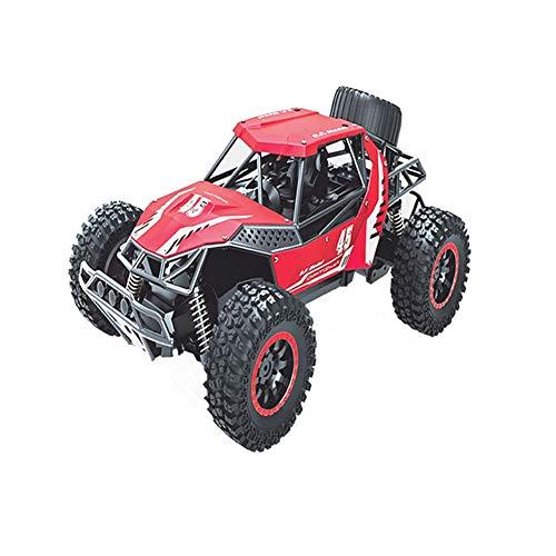 GRTVF Control Remoto Coche 1/16 Aleación de Alta Velocidad Control Remoto Racing Off-Road Stimbing Car Remoto Control Remoto Toy Coche Regalo para Boy Girl (Color : Rojo)