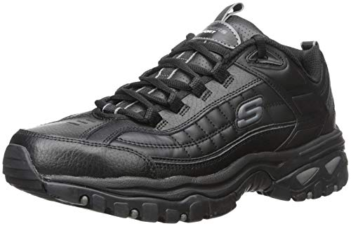 Skechers mens Energy Afterburn road running shoes, Black, 9 US