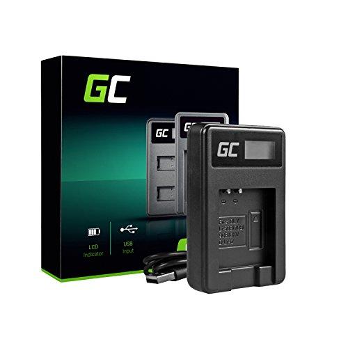 Green Cell® Cargador para Olympus SP-800UZ Cámara (2.5W 4.2V 0.6A Negro)