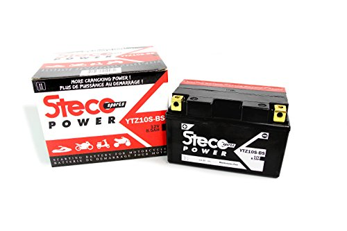 Wartungsfreie Batterie YTZ10S-BS 8,6Ah H-onda CBF 1000 ABS 2006-2015, CBR 500 R 2013-2018, CBR 600 F 2001-2013 (Steco Power)