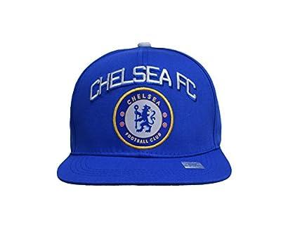 Chelsea Fc Snapback Adjustable Cap Hat - White - Blue New Season