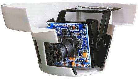 SANTEC VTC-2612 D Diskret-Farb-Kamera im Rauchmelderhäuse inkl. NT4 Netzgrät