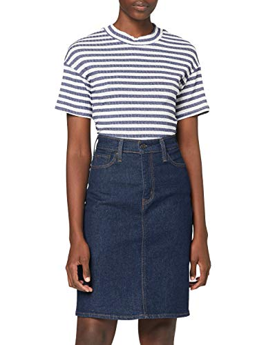 Levi's Classic Skirt Falda, Bonkers Blue Rinse T2, 24 para Mujer
