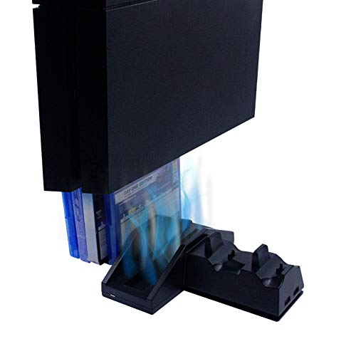 Numskull PlayStation PS4 Multi-Function 5 in 1 Docking Station / Console Stand [Edizione: Regno Unito]