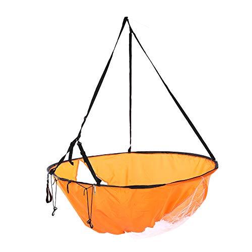 SANON Paleta de Viento de Vela Especial Plegable Ultraligera Portátil Ecológica de Alta Transparencia para Kayak Canoa Botes Inflables