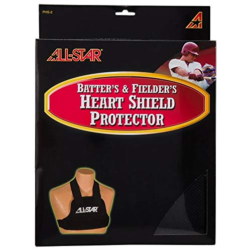 Ages 9 & Above Youth Large Baseball/Softball Pitcher/Fielder & Batter Heart Shield Protector