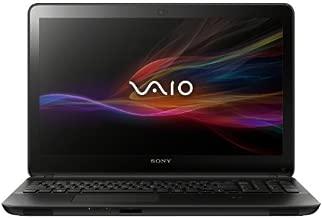 Sony VAIO SVF15A16CXB 15.5-Inch Touchscreen Laptop (2.0 GHz Intel Core i7-3537U Processor, 8 GB DDR3L, 1 TB  HDD, 8GB SSD, Windows 8) Black