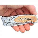 MTech MT423 Laser Engraved Personalized Pocket Knife, Valentines Day...