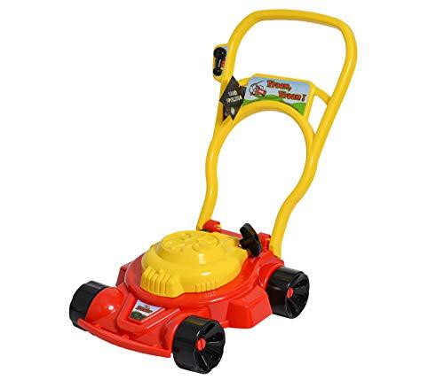 Alsino Spielzeug Rasenmäher für Kinder mit Geräusch Kinderrasenmäher in Rot Räder für Draußen Gartenspielzeug Outdoor