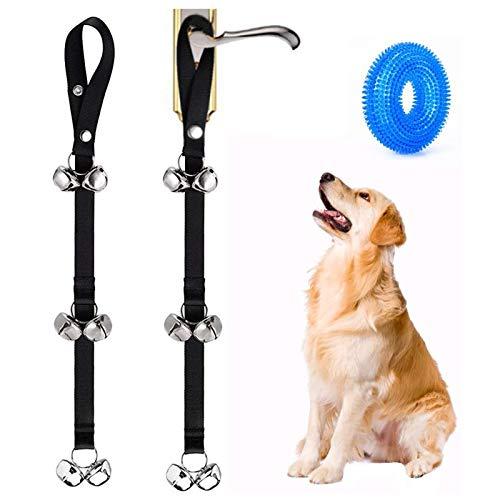 EQLEF Hundeglocke für Toilettentraining, längenverstellbar, Hundetraining Glocke für Haustraining