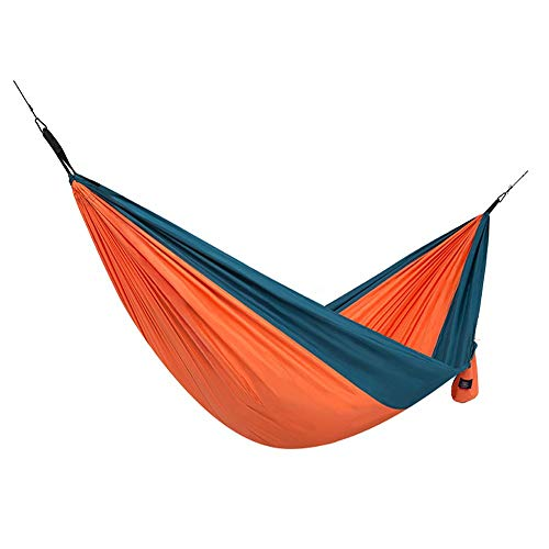 Blue Portable Camping Tourism 2 People Safe, Prevent Falling, Home Indoor Hammock Outdoor3 Colors Optional Hammock Outdoor (color : B)
