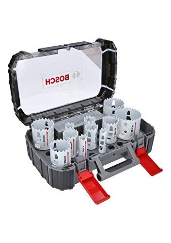 Bosch Professional 2608594185 Bosch Carbide Universal Hole Saw Set Carbide Carbide Carbide 13-Piece