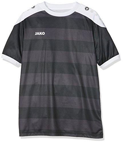 JAKO Kinder Fußballtrikots KA Trikot Celtic, Schwarz/Weiß, 152