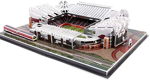 WPLHH Paper 3D Puzzles,Old Trafford Stadium (U.K.) Building Sets 3D Construction Toys Model Kits,Educational Toy for Kids and Adults,Gift for Boys and Girls