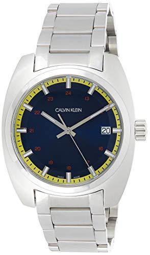 Calvin Klein Reloj Analógico para Hombre de Cuarzo con Correa en Acero Inoxidable K8W3114N