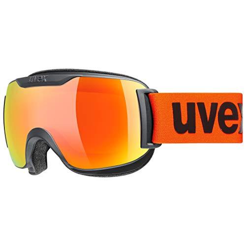 uvex Unisex– Erwachsene, downhill 2000 S CV Skibrille, black mat, one size