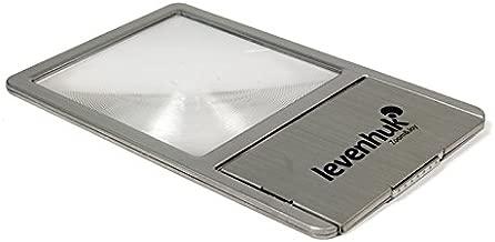 Levenhuk Zeno 90 Compact Fresnel Lens – Pocket Magnifer with LED Illumination