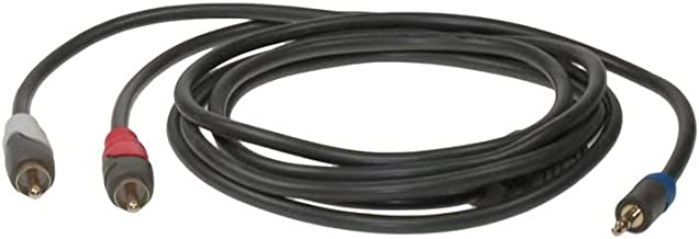 SF Cable 1.5 Meter 3.5mm to 2 RCA Stereo Audio Cable (4.92ft)