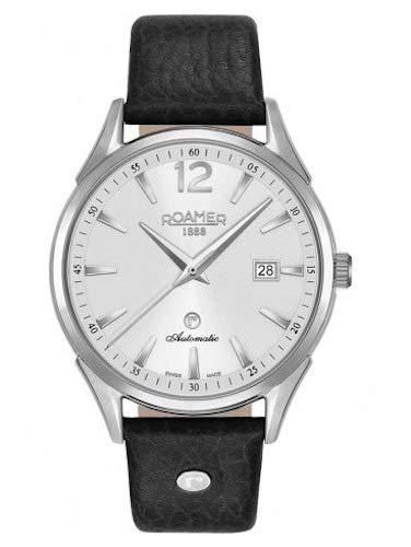 ROAMER Herren Analog Quarz Uhr mit Leder Armband 550660 41 25 05