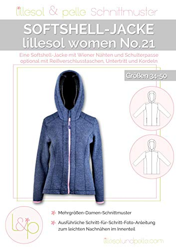 Lillesol & Pelle Schnittmuster women No21 Softshelljacke Papierschnittmuster