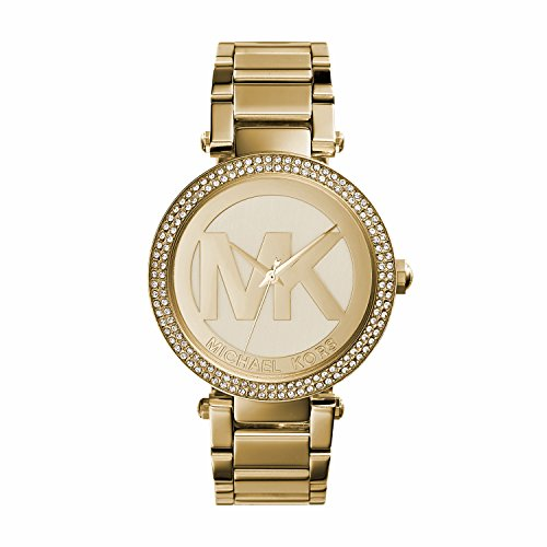Michael Kors Damen Analog Quarz Uhr mit Edelstahl Armband MK5784