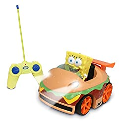 NKOK Remote Control Krabby Patty Vehicle with Spongebob (Discontinued by manufacturer)