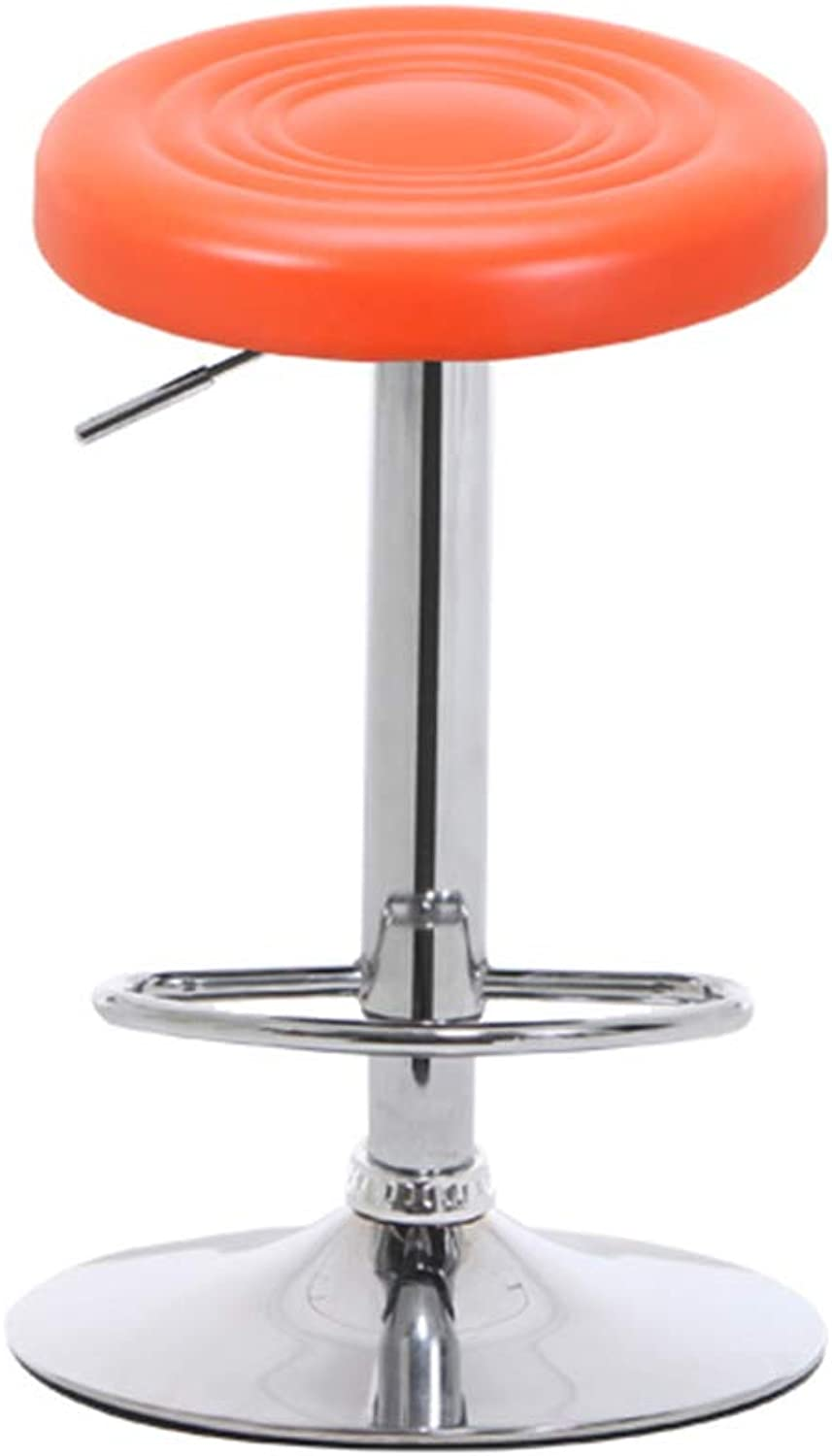 Fashion Bar Stool 360° redating Height Adjustable Flexible Swivel Task Chair with Adjustable Height and Soft Sponge Cushion