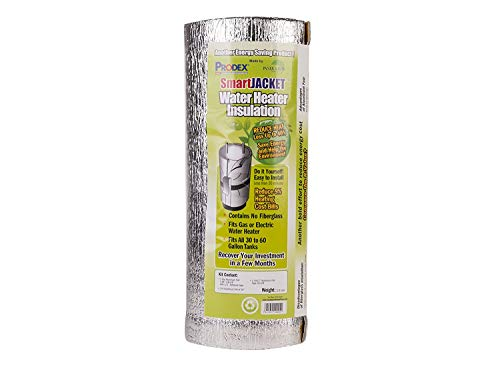 """Water Heater Blanket Insulation, """"NON FIBERGLASS"""", Fits up to 80 Gallons, Energy Star Certified,"""