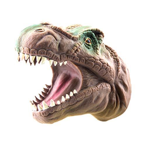 Toyvian 1 stück handpuppe Dinosaurier handpuppe Spielzeug Cosplay Prop für Kinder Erwachsene