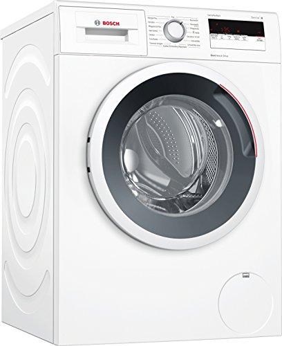Bosch WAN28121 Serie 4 Waschmaschine Frontlader / A+++ / 157 kWh/Jahr / 1400 UpM / 7 kg / weiß / EcoSilence Drive / Trommelreinigung