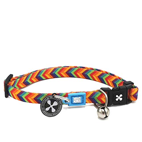 Max & Molly Urban Pets Smart ID Cat Collar - Summertime - 1 Size