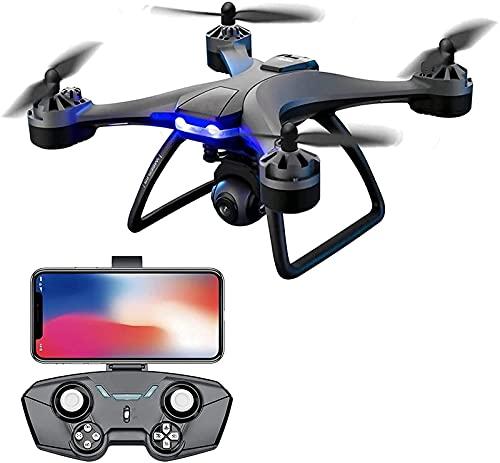 YYAI-HHJU Drone GPS, Drone Rc con Videocamera HD 6K per Adulti Droni con Occhiali VR + Custodia 1000M di Distanza Telecomando Rc Quadcopter 2Batteria