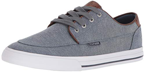 Price comparison product image Tommy Hilfiger Men's Phelipo Sneaker,  Dark Blue,  10 M US