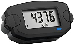 Trail Tech 742-A00 Black Surface Mount TTO Hour Meter