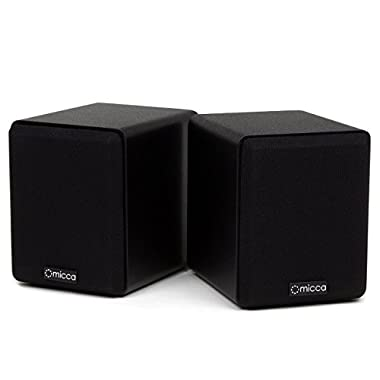 Micca COVO-S Compact 2-Way Bookshelf Speakers