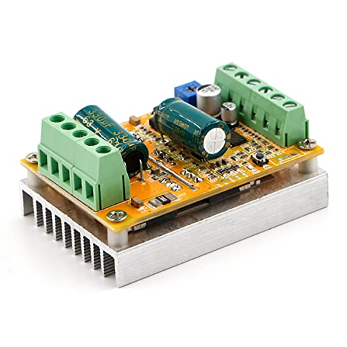 RioRand 380W 6.5-50V PWM DC Brushless Electric Motor Speed Controller with Hall-Less