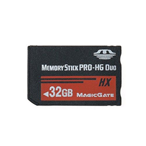 LICHIFIT Memory Stick MS Pro Duo Carte mémoire haute vitesse pour Sony PSP 32 Go