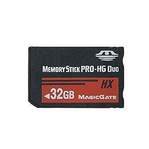LICHIFIT Tarjeta de memoria Memory Stick MS Pro Duo de 32GB para Sony PSP de alta velocidad y alta capacidad