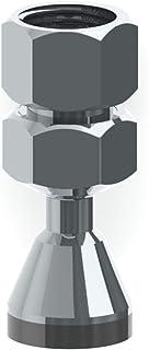 Dica 4502L Regadera Mini Ecológica de latón cromado