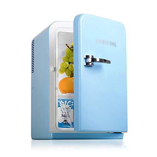 Mini réfrigérateurs Réfrigérateurs À Porte Simple Petit Réfrigérateur Voiture Portable Réfrigérateur Muet pour Le Bureau Peut Être Réfrigéré (Color : Blue, Size : 29 * 36 * 44cm)