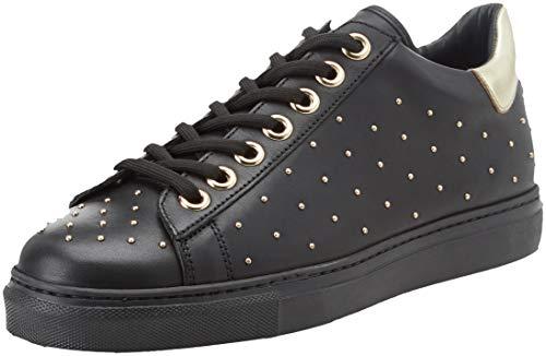 Twinset Milano Ca8pby Damen Sneaker, Schwarz - Schwarz (Nero 00006) - Größe: 41 EU