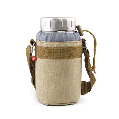 Keith Botella deportiva de titanio/con bolsa de transporte,